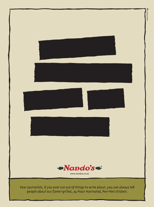 Nando's at it again.